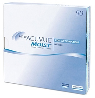 1 Day Acuvue Moist for Astigmatisme (90 Pack)