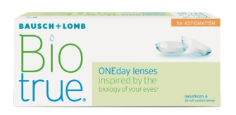 Biotrue 1 day for astigmatism 30 pack
