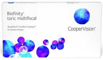 Biofinity multifocal toric 6 Pack