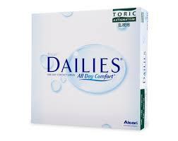 Focus Dailies Toric (90 Pack) Vervangen door Dailies Aqua Toric 90 pack