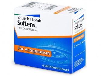Soflens Toric for Astigmatisme (6 Pack)